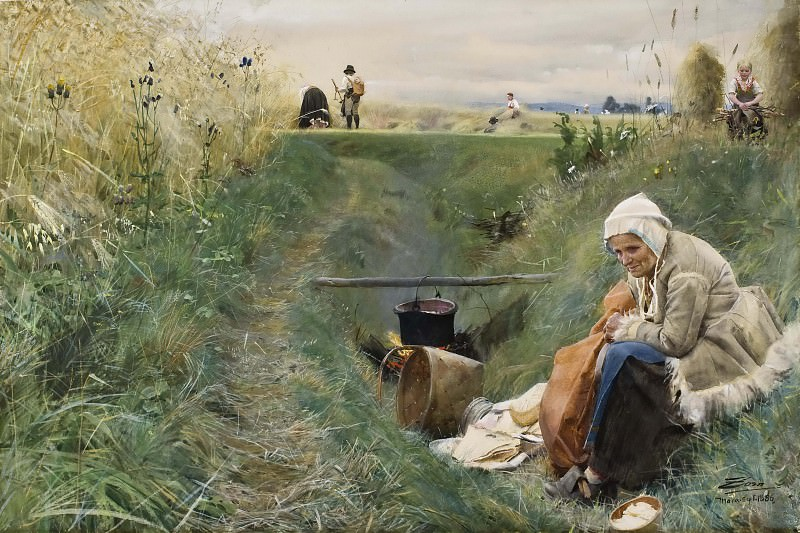 Our Daily Bread. Anders Zorn