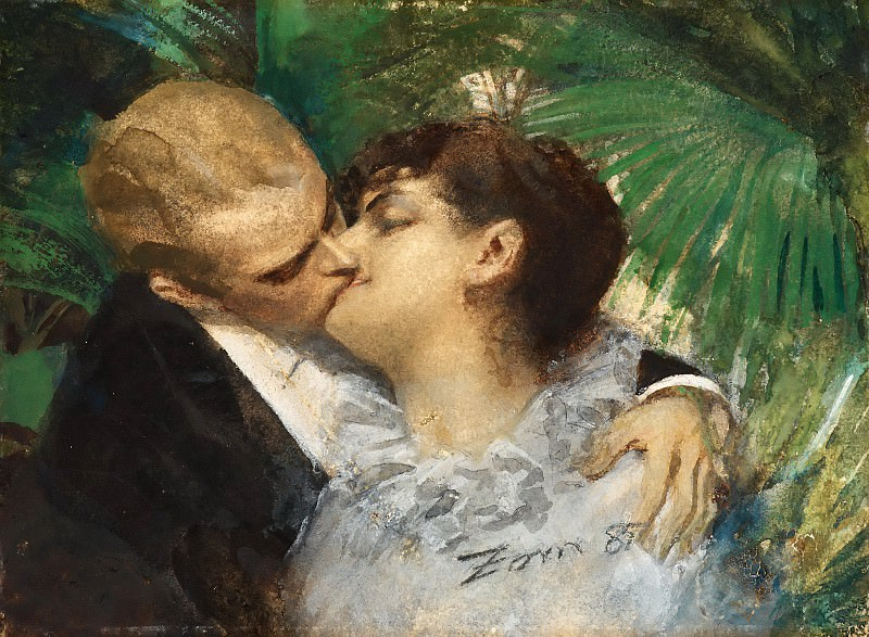 The Embrace. Anders Zorn
