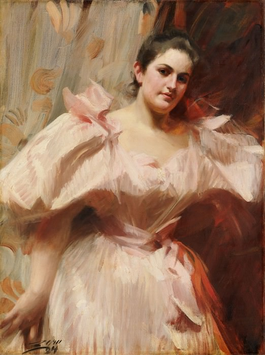 Frieda Schiff (1876–1958), Later Mrs. Felix M. Warburg. Anders Zorn