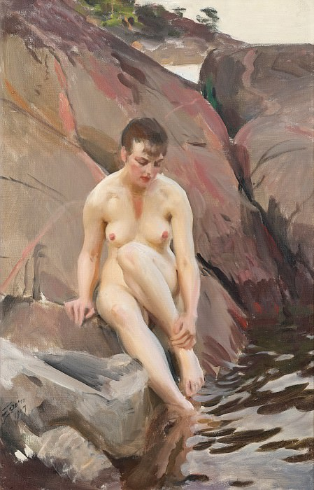 Martha. Anders Zorn