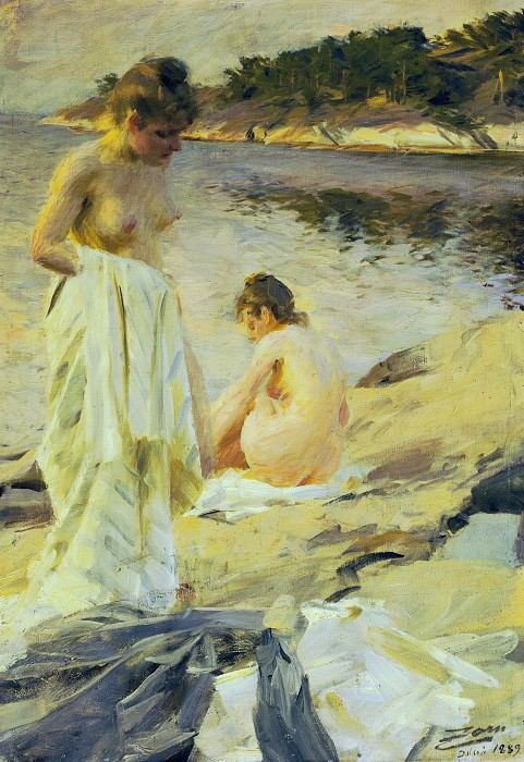 The Bathers. Anders Zorn