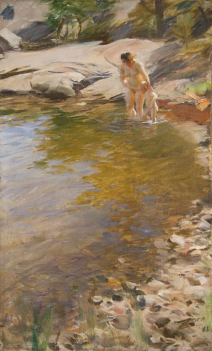 Morning Toilet. Anders Zorn