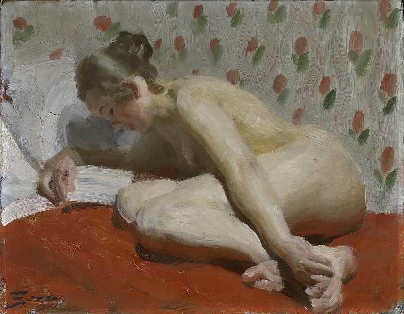 Study of a Nude. Anders Zorn