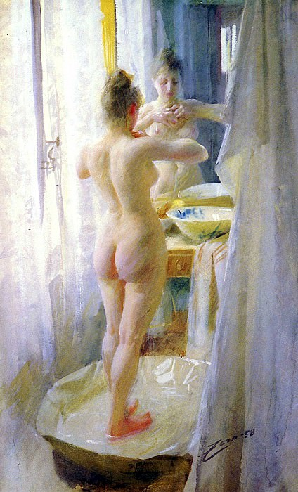 Zorn Anders Le Tub. Anders Zorn