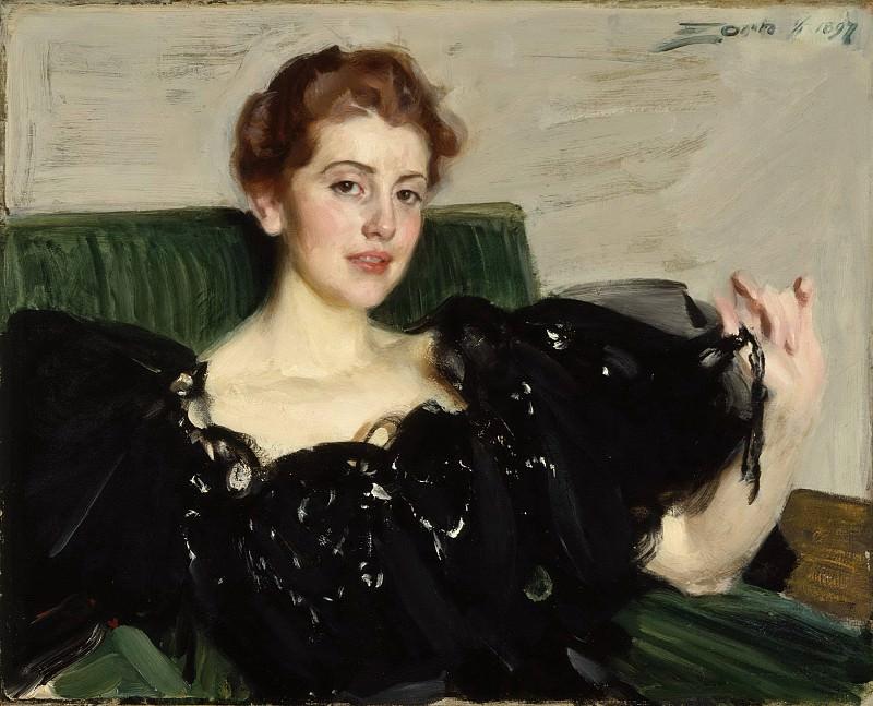 Mrs. Lucy Turner Joy. Anders Zorn