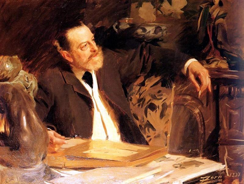 Zorn Anders Antonin Proust. Anders Zorn