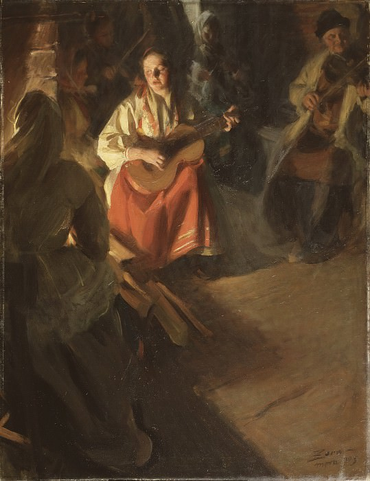 Musical Family. Anders Zorn