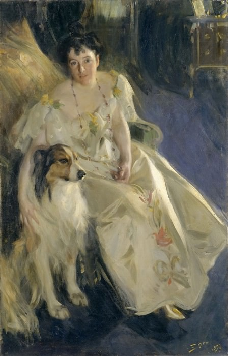Mrs. Walter Rathbone Bacon (Virginia Purdy). Anders Zorn