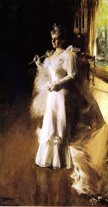 Mrs Potter Palmer. Anders Zorn