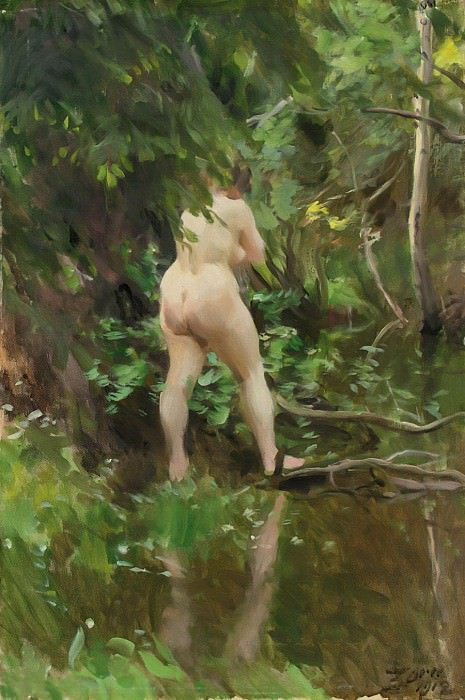 THE FLOOD. Anders Zorn
