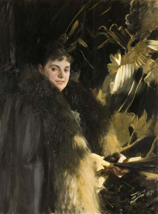 Mrs Veronica Heiss. Anders Zorn
