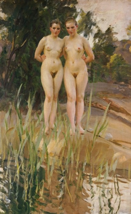 girlfriends. Anders Zorn
