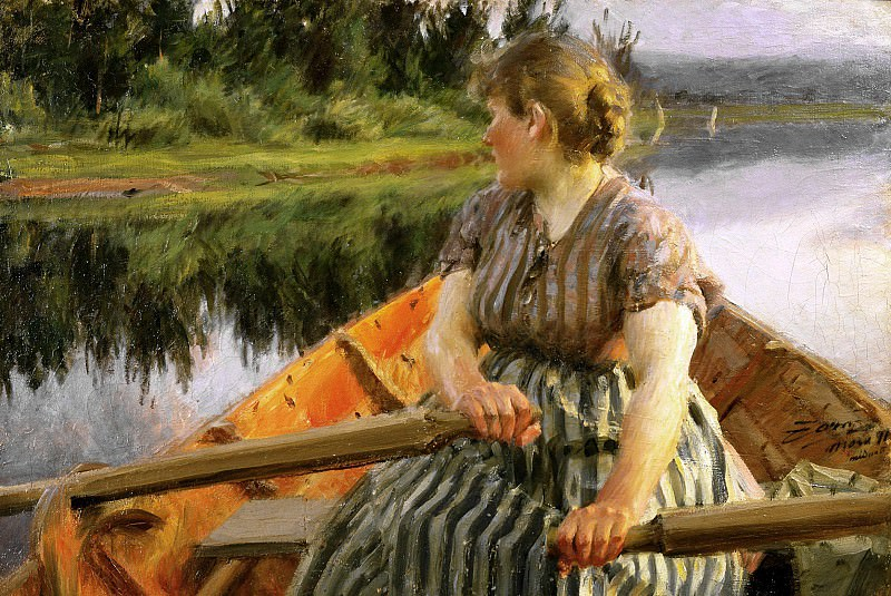 midday. Anders Zorn