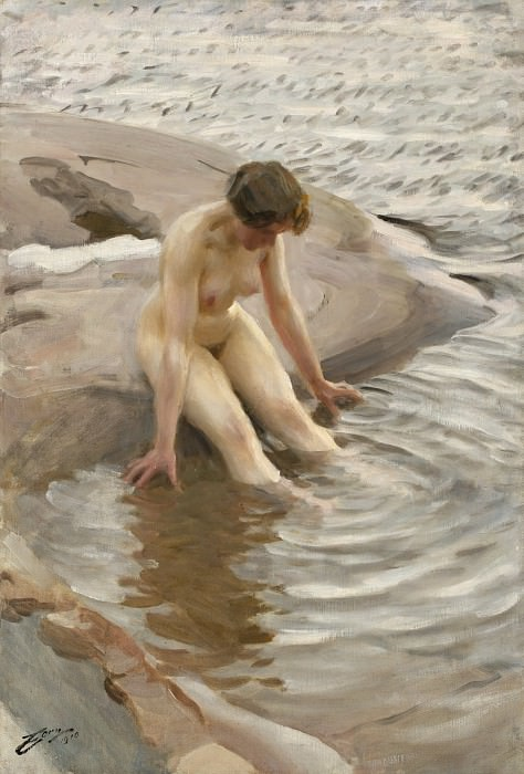 The Bather. Anders Zorn