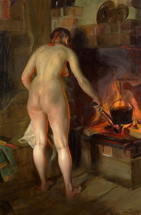 Potato cauldron. Anders Zorn
