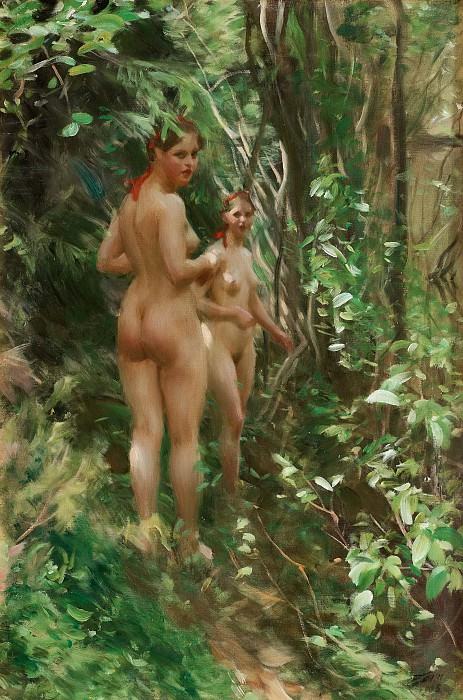 The Hinds. Anders Zorn