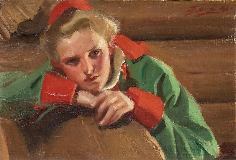 Girl from Mora. Anders Zorn