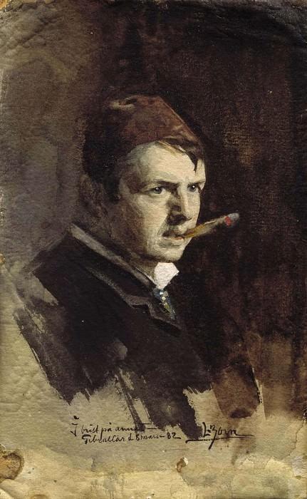 Selfportrait. Anders Zorn
