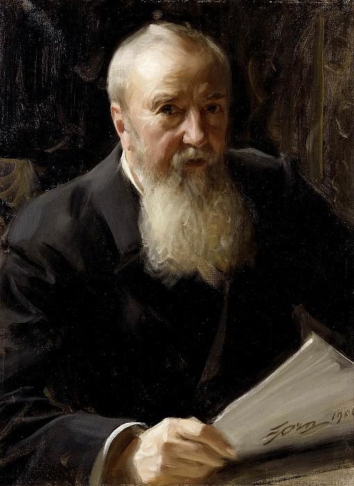 Carl Fredrik Liljevalch (1837-1909). Anders Zorn