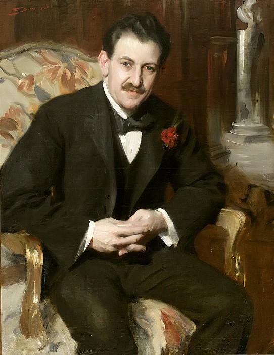 Сэмюэл Унтермайер (1858-1940). Андерс Цорн