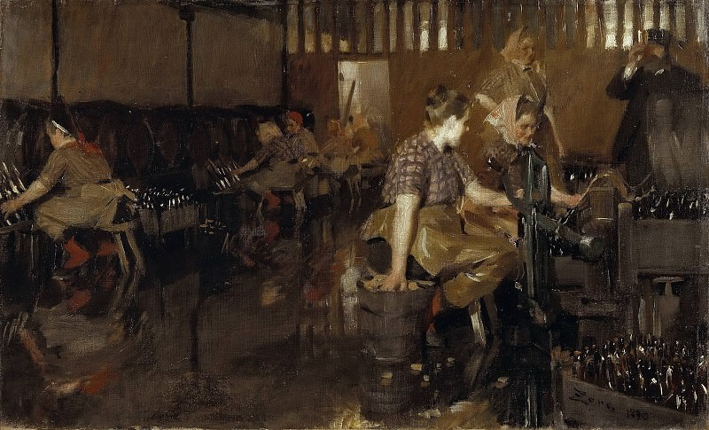 The Little Brewery. Anders Zorn