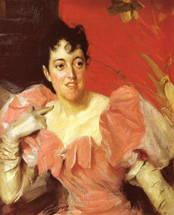 Mrs Walter Bacon. Anders Zorn