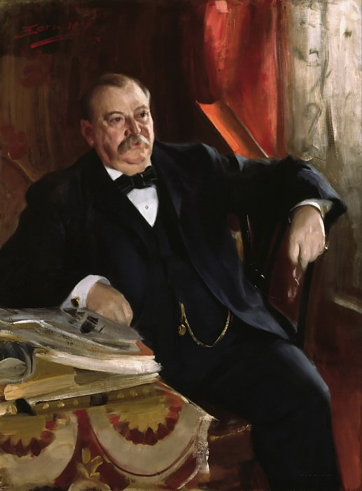 President Grover Cleveland. Anders Zorn