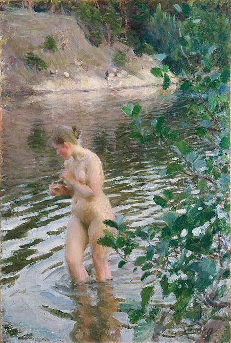 Frileuse. Anders Zorn