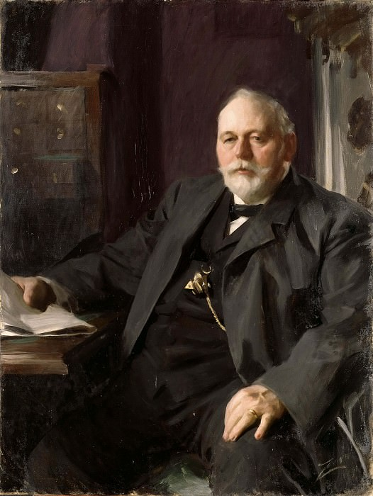 Mr Frans R. Heiss. Anders Zorn