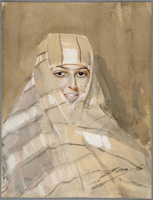 Бедуинская девушка. Андерс Цорн