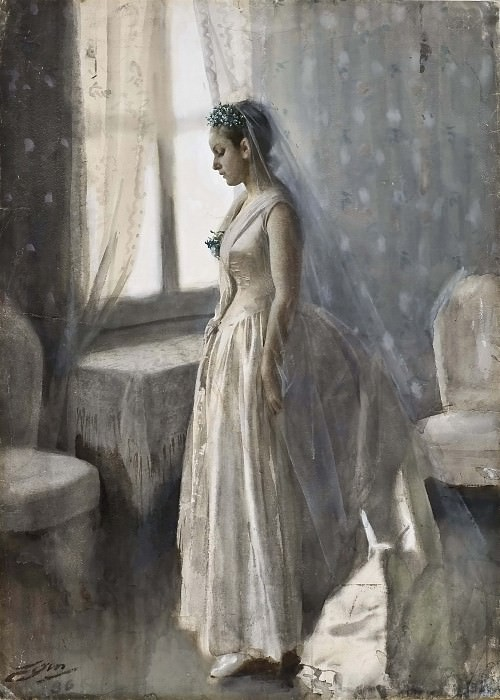 The Bride. Anders Zorn