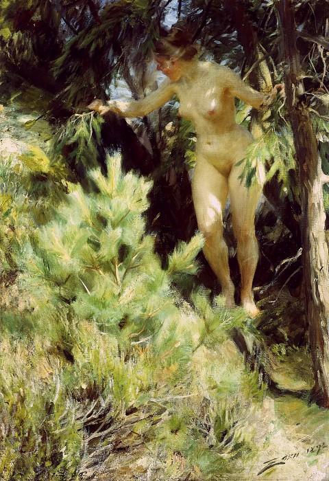 Wood-Sprite. Anders Zorn