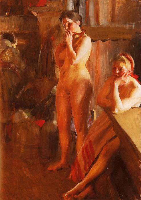 Eldsken. Anders Zorn