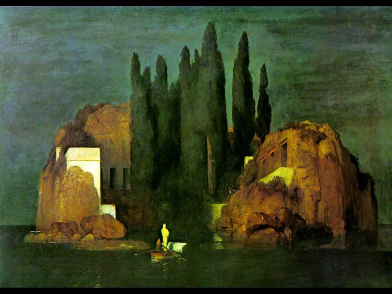 Island of the Dead. Швейцарские художники