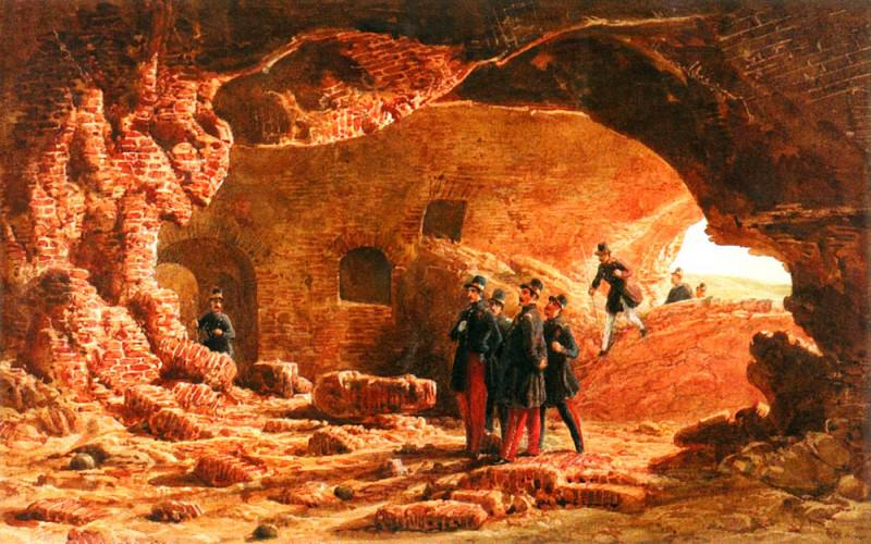 Girardet Karl Genietruppen Beim Sprengmanover 1847 Picture 2. Swiss artists