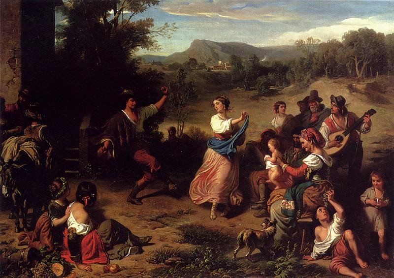 Robert Leopold Louis The Fiesta. Swiss artists