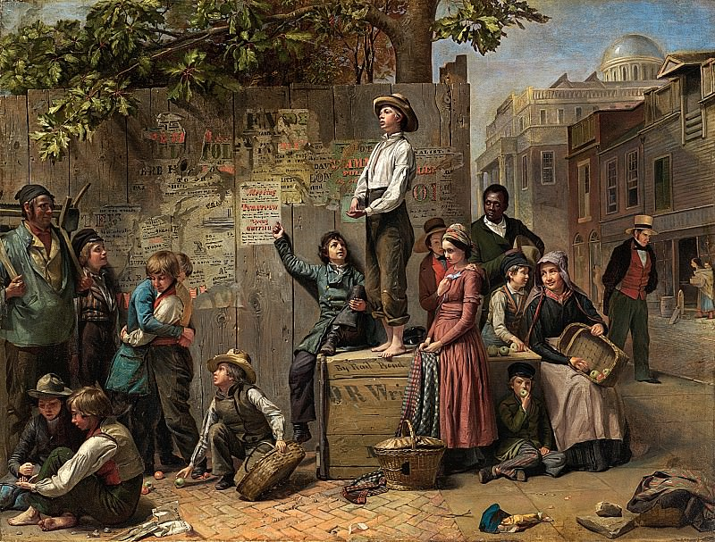 Thomas Le Clear (1818-1882) - Young America (ca. 1863 Anonymous Loan, courtesy of Karl Gabosh). part 2 American painters