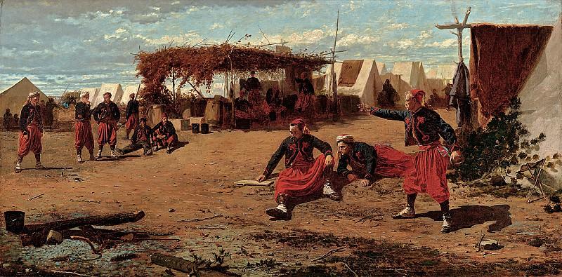 Winslow Homer (1836-1910) - Pitching Quoits (1865 Harvard University Art Museums). part 2 American painters