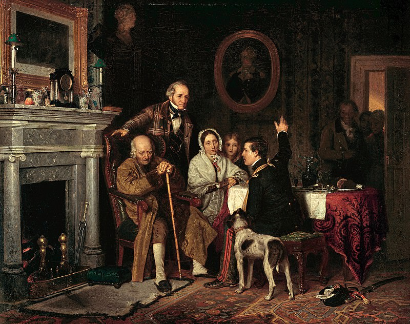 Richard Caton Woodville (1825-1855) - Old 76 and Young 48 (1849 The Walters Art Museum). part 2 American painters