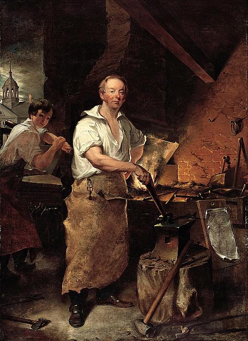 John Neagle (1796-1865) - Pat Lyon at the Forge, 1829 (Pennsylvania Academy of the Fine Arts, Philadelphia). part 2 American painters