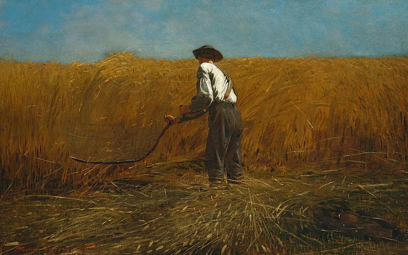 Winslow Homer (1836-1910) - The Veteran in a New Field (1865 The Metropolitan Museum of Art). part 2 American painters