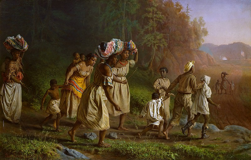 Theodor Kaufmann (1814-1896) - On to Liberty (1867 The Metropolitan Museum of Art). part 2 American painters