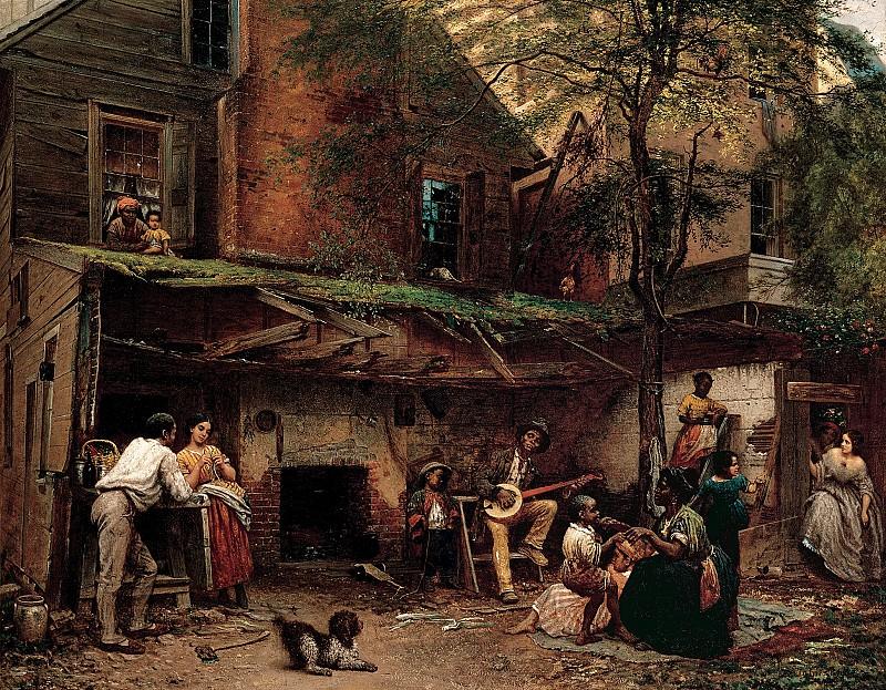 Истмен, Джонсон (1824-1906) - Жизнь чернокожих на юге. часть 2 Американские художники