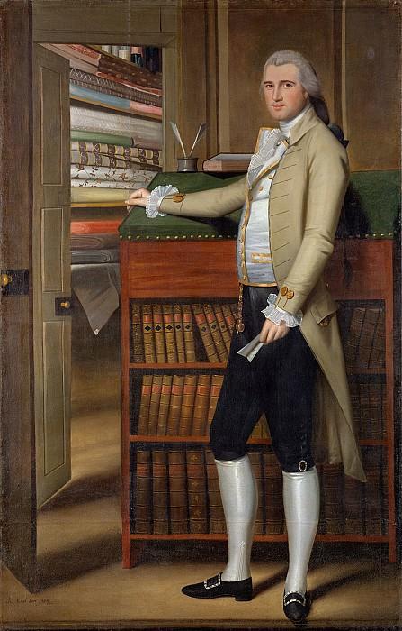 Ральф Эрл (1751-1801) - Илайджа Бордмен, 1789. часть 2 Американские художники