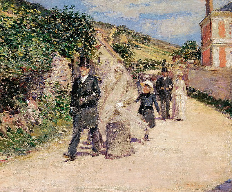 Theodore Robinson (1852-1896) - The Wedding March (1892 Terra Foundation for American Art). part 2 American painters
