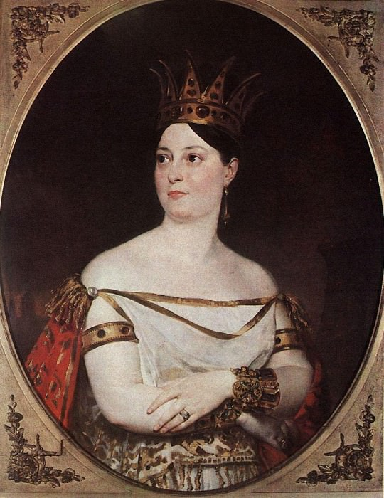 Portrait Giuseppina CRC de Benis. 1833-1835. Karl Pavlovich Bryullov