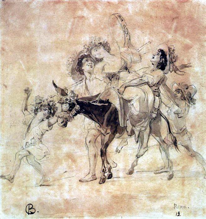 Happy return. 1827-1830. Karl Pavlovich Bryullov