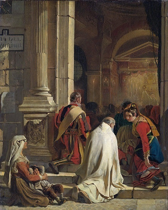 Vespers. 1825. Karl Pavlovich Bryullov