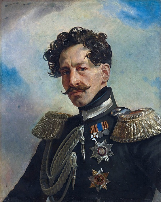 Portrait of Adjutant General Count Vasily Alekseevich Perovsky. Karl Pavlovich Bryullov
