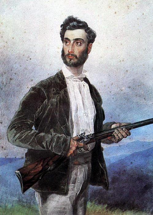 Portrait of Antonio Tittoni2. 1850-1852. Karl Pavlovich Bryullov